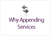 Why Appending Services