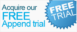 Acquire our Free Append trial