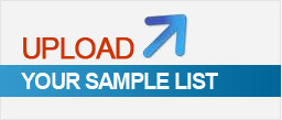 Upload your Sample List