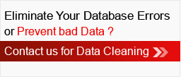 Contact us for Data Cleaning